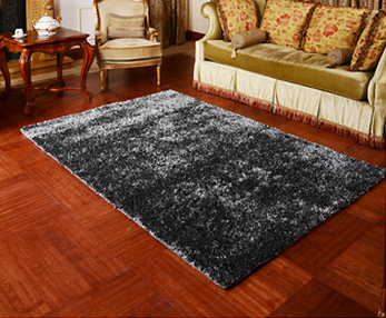 80x120CM Household Fashion Silk Floor Carpet Quality Rectangle Living Room Modern Bedroom Mat Free