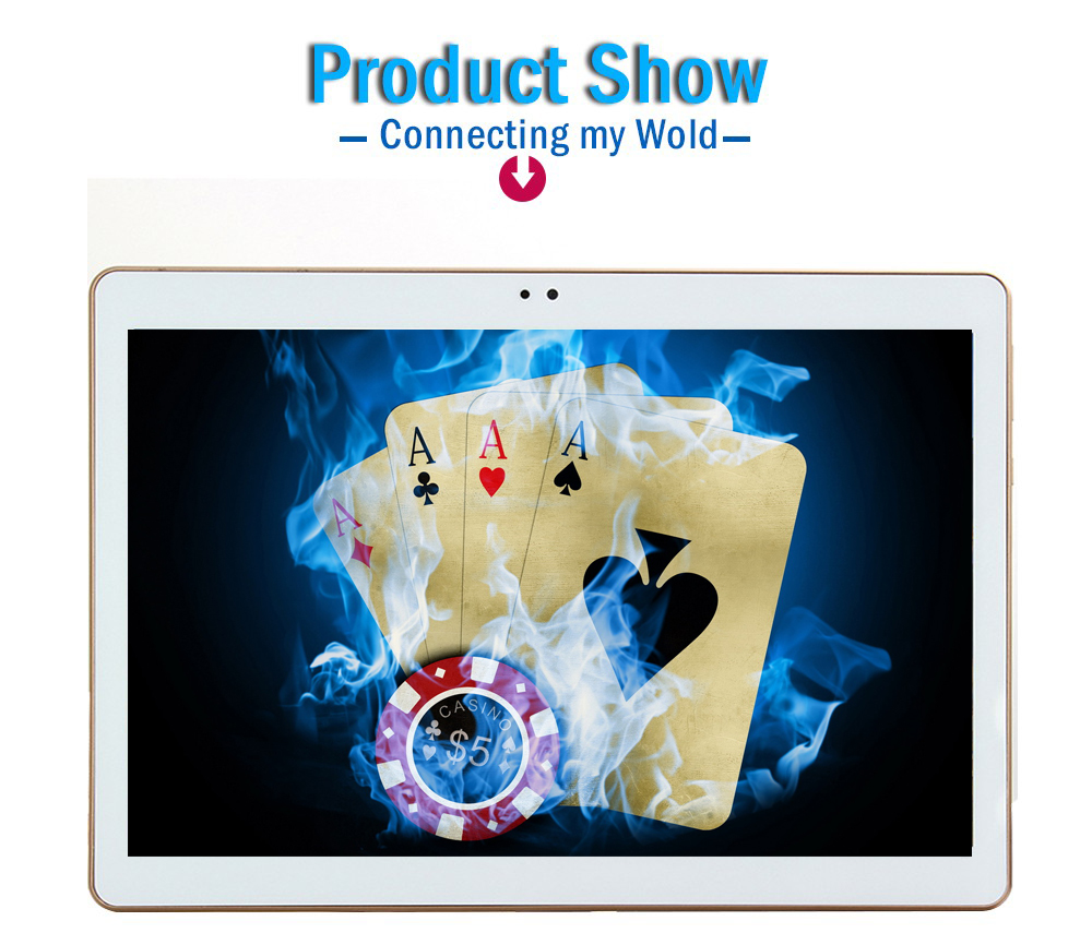 4G LTE T805C Tablets Computer Android 8.0 8 Octa Core ROM Dual Camera 8MP Dual SIM Tablet PC GPS Bluetooth Phone Rom 64GB