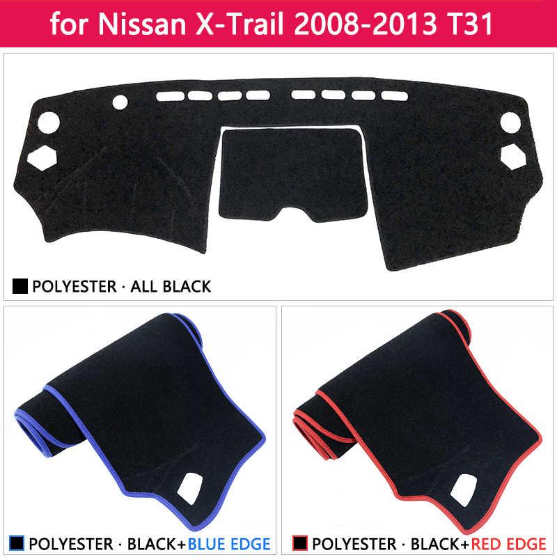 لنيسان X-درب T31 2008 ~ 2013 مكافحة زلة حصيرة لوحة الغلاف سادة ظلة Dashmat اكسسوارات 2009 2010 2011 X تريل XTrail