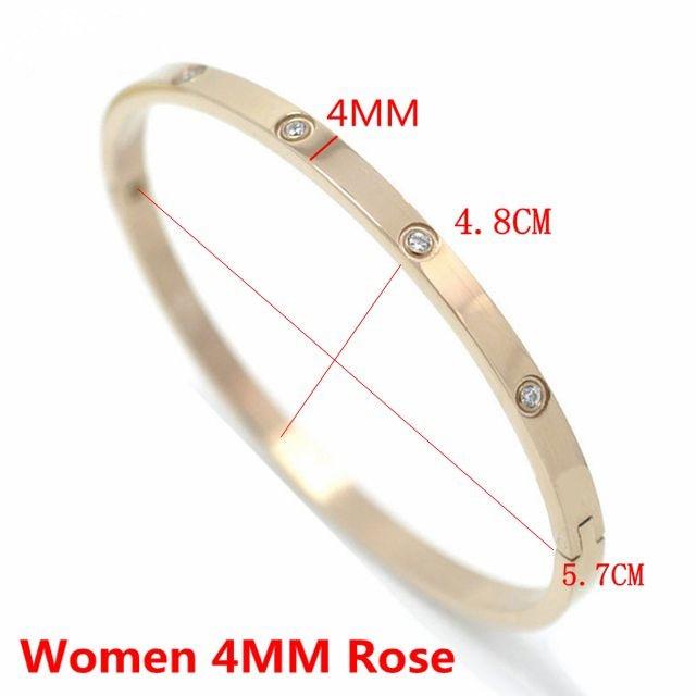 Women 4MM Rose