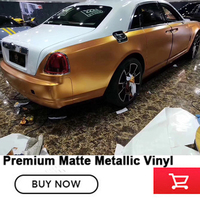 low initial tack adhesive Metallic pearl metal cuprum vinyl wrapping film vinyl film with air release channels