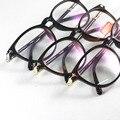 Gafas Retro Marcos de Anteojos Ópticos de la lente Plano Gafas Hombres Gafas Mujeres de La Vendimia Completa Gafas oculos