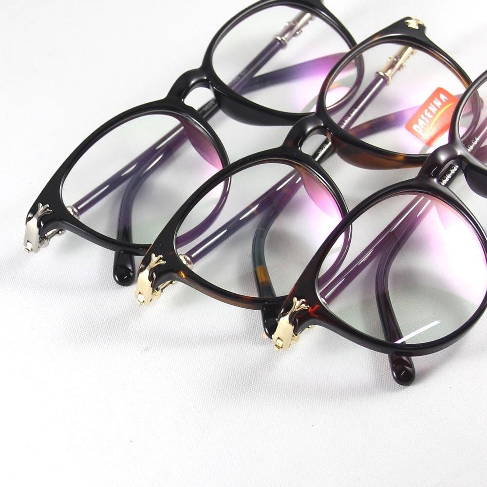 d8c33bf669002 HAO RUI ÓCULOS Óculos Retro Homens Populares Do Vintage Óculos Mulheres  Óculos Redondos Quadro Óptico Óculos armação Completa Óculos oculos