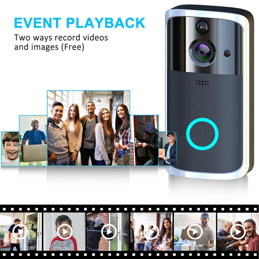 HTB15IFOUIbpK1RjSZFyq6x qFXaq - WiFi Video Doorbell Camera