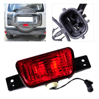 Rear Spare Tire Cover Tail Bumper Light Fog Lamp Fit For Mitsubishi Pajero Shogun V87 V93