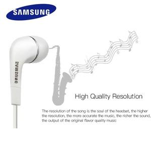 Image 2 - SAMSUNG écouteurs EHS64 3.5mm dans loreille avec Microphone fil casque pour Samsung Galaxy S8 xiaomi Support officiel Test Original