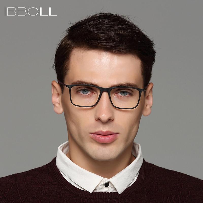 270d4950ef8 ibboll Fashion Optical Glasses Frame Mens Luxury Brand Designer Eye Glasses  Frames for Men Transparent Eyeglasses