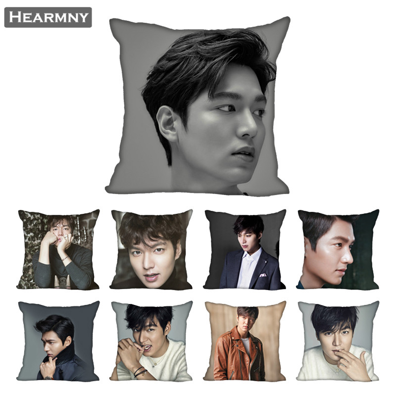 Lee Min Ho Pillow Case For Home Decorative Pillows Cover Invisible Zippered Throw PillowCases 40X40 45X45cm