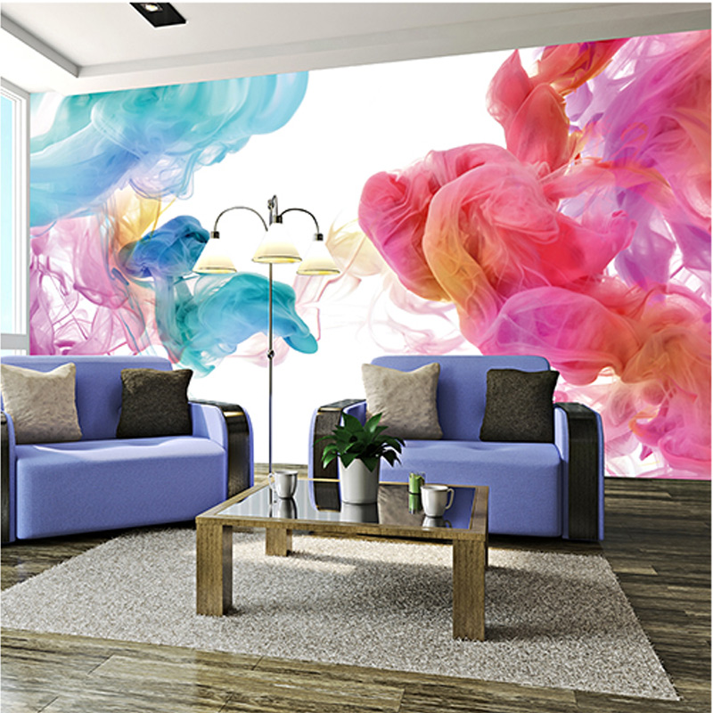 Custom 3D Photo Wallpaper Modern Abstract Graffiti Art Large Wall Painting Living Room Sofa 3D Wall Mural Wallpaper Home Decor 0329zc0401 home wall furniture decorations diy number painting children graffiti lonely snow wolf painting by numbers
