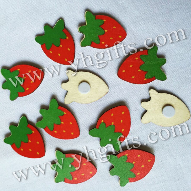 100PCS/LOT,Strawberry stickers,Kids toys,scrapbooking kit,Early educational DIY.Kindergarten crafts.Classic toys.2.3x3.3cm