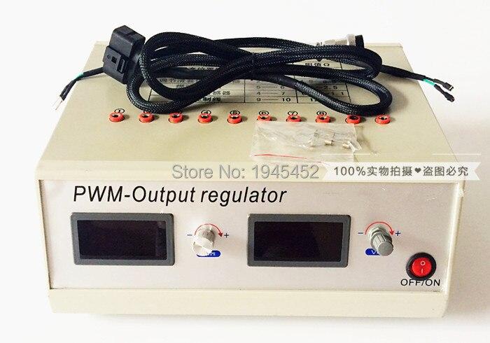 Simulateur de testeur de pompe à rampe commune à tension réglable pour pompe électrique vp37 ve37 RED4 pour actionneur de régulateur électrique