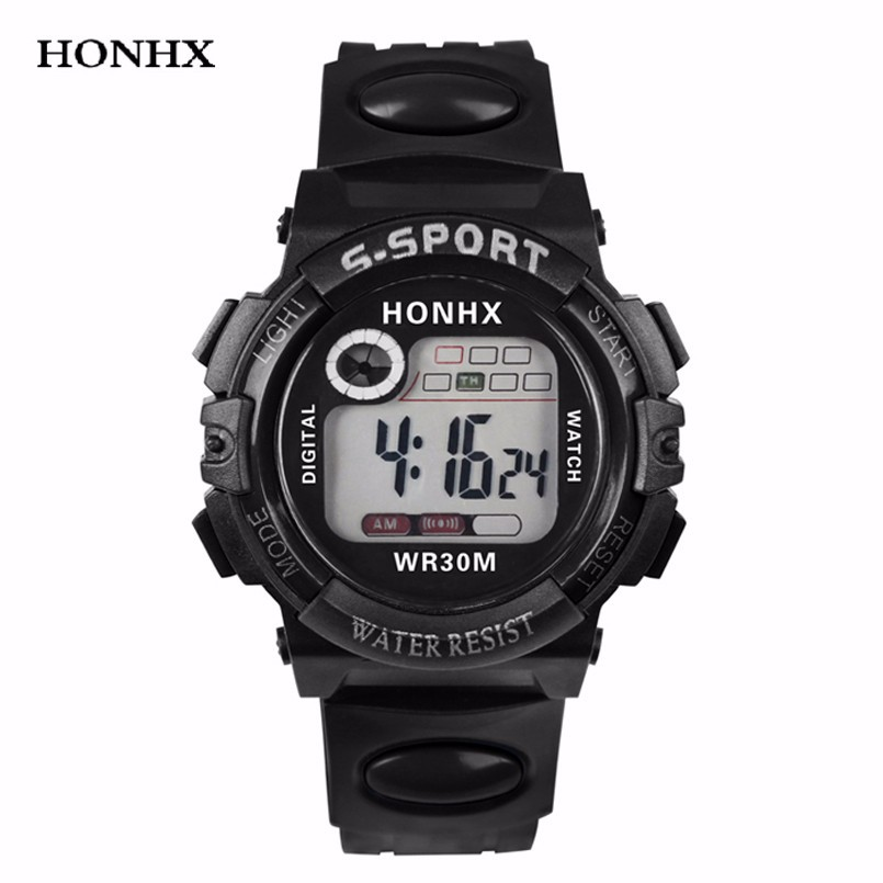 Multifunction Digital LED Quartz Alarm Date Clock Sport Waterproof Watch  Y25