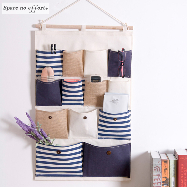 Hanging Storage Pocket Wardrobe Organizer Bag Multi layer Holder