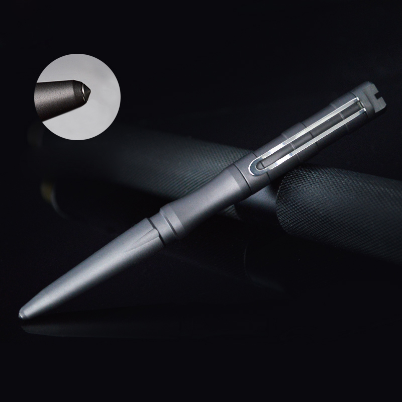 Free Shipping New Style Self Defense Personal Safety Tactical Pen Pencil With Writing Function Tungsten Steel Head