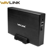Wavlink 3.5 Inch SATA to USB 3.0 External Hard Disk Drive Enclosure SATA HDD SSD Docking Station UASP Protocol 10TB 12V/2A Power
