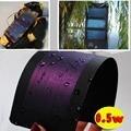 0.5 W 2 V Flexible de Película Delgada Panel Solar Celular Cargador de Batería de la Cáscara y del Palillo Impermeable Caliente Envío de La Gota