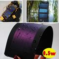 0.5 W 2 V Thin-Film Solar Flexível Painel Celular Peel & Vara Transporte da gota Carregador de Bateria À Prova D' Água Quente