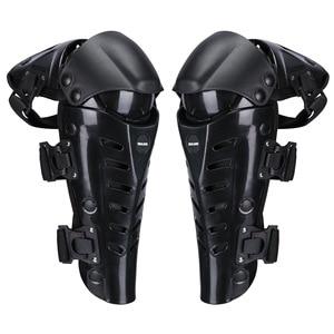 Black/Red Motorcycle Knee pads