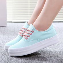 Shoes woman canvas shoes 2016 new fashion women flat shoes scarpe donna creepers shoes ladies