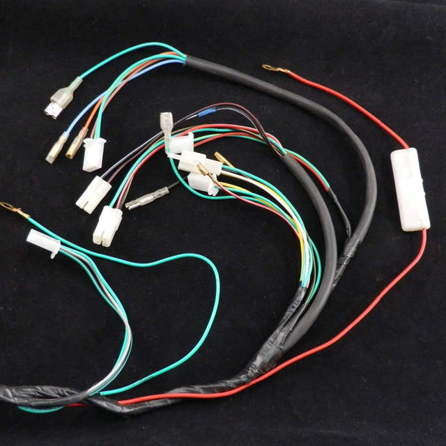 US $29.95 |SCOOTER COMPLETE WIRE HARNESS for Znen 150T E 150cc Vintage on