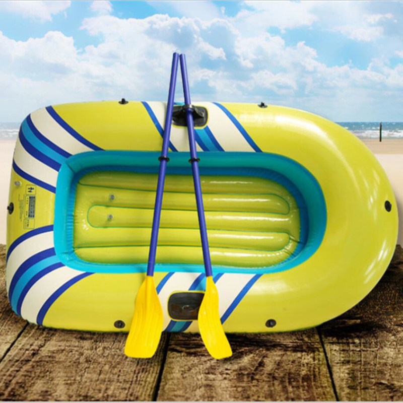 Outdoor Rafting Sea Leisure Kayaking Inflatable 2-3 Person Water Cruiser Inflatable Fishing Assault Boat Inflatable Hovercraft