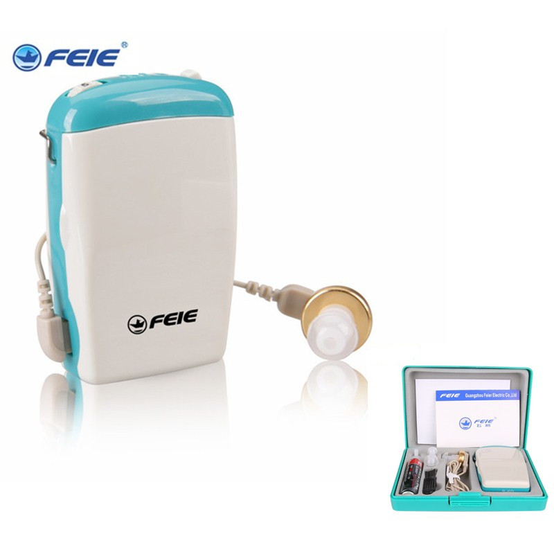APPAREILS AUDITIFS FEIE pocket sourds aide écouter dispositif utile aide  auditive écouteur S-6D livraison gratuite a009fb507c19