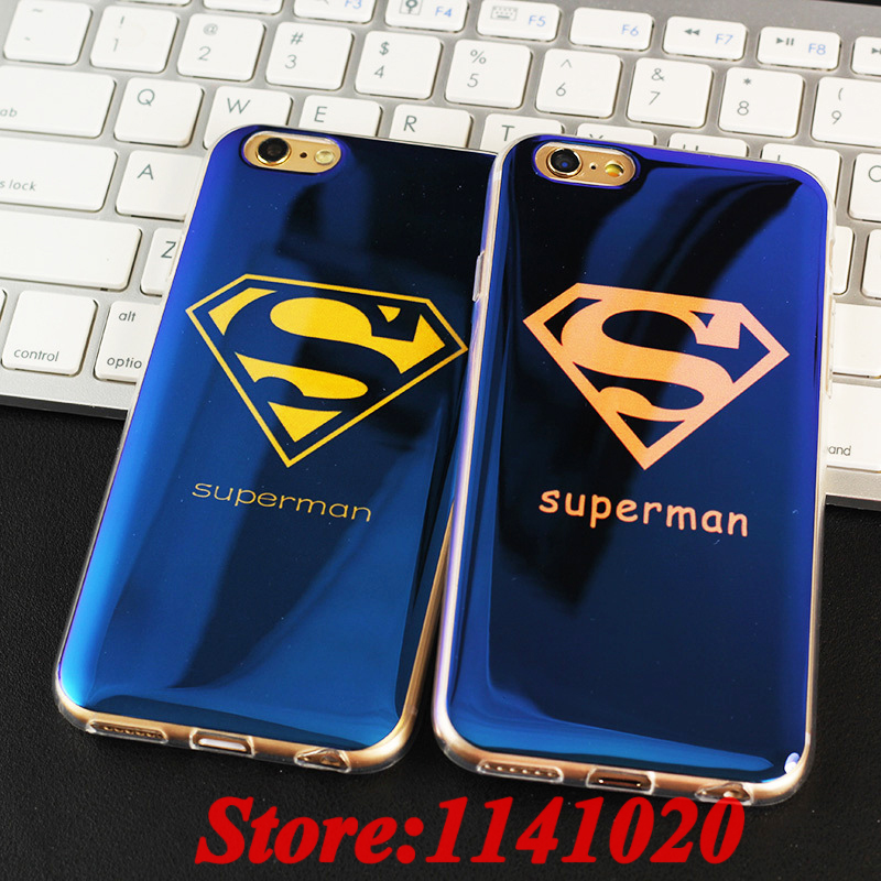 Superman New <font><b>Civil</b></font> <font><b>War</b></font> <font><b>Captain</b></font> <font><b>America</b></font> <font><b>Blu-ray</b></font> Soft Silicon Cover Case Coque Fundas for iPhone 5S 5 SE 6 6S Plus Caso Carcasa