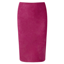 Neophil 2018 Summer Gray Pink Women Suede Midi Pencil Skirts Causal High Waist Sexy Stretch Ladies Office Work Wear Saia S1009