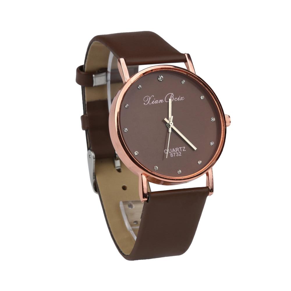 Susenstone 2018 fashion women watch luxury brand women casual wrist watch ladies quartz watch for Women casual watches