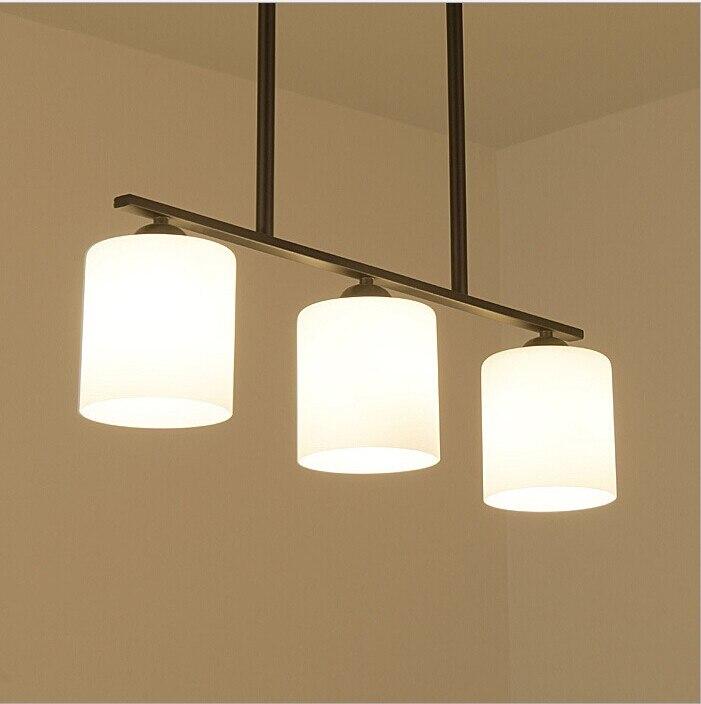 American Country Pendant Light Creative Pendant Lamp Glass Ball Hanging Lamp Nordic Designer Light Art Deco Lighting AC 85-265V