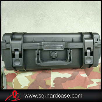 Middle size IP67 waterproof plastic carrying case shockproof crushproof