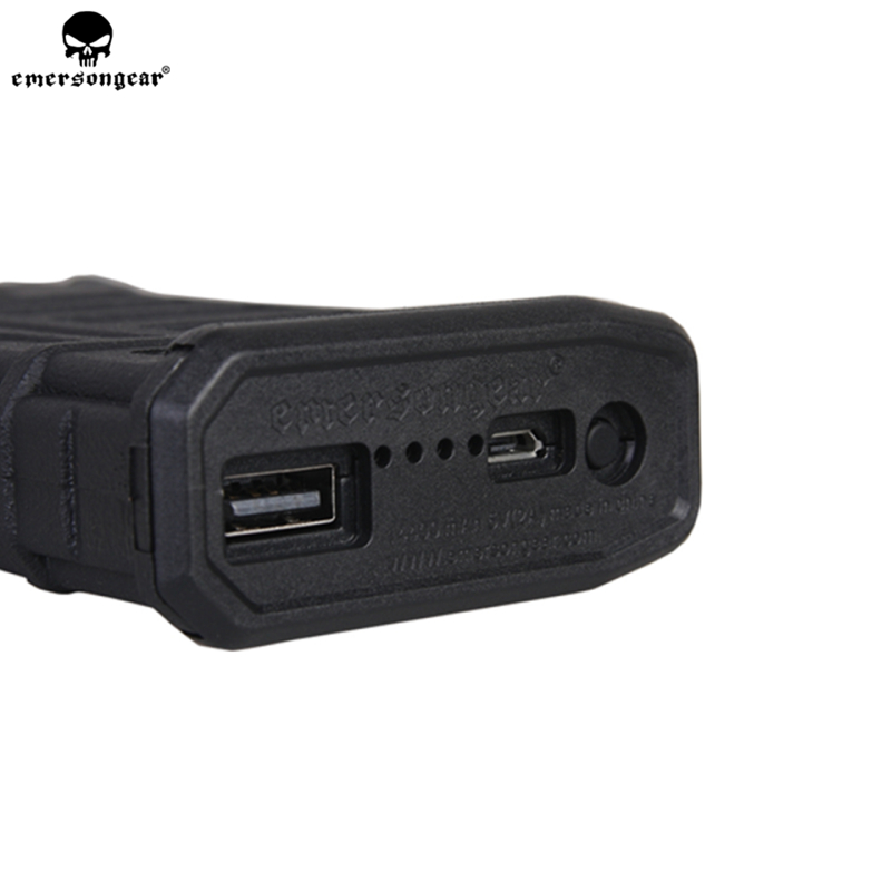 emersongear Pmac Magzine Style Powerbank Hunting Tactical Powerbank Pouches NO Battery Intelligent Portable EM8068 in Pouches from Sports Entertainment