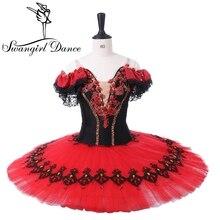 red ballet Tutu adult classical ballet tutu for performance professional ballet tutu for girls dance costumes BT8957