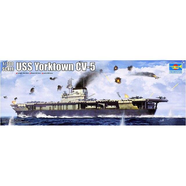 trumpet 06707 1 700 american cv 5 york city aircraft carrier