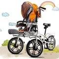 Yabby-bicicleta Do Bebê Bicicleta Carrinho De Criança, um Veículo Único Para Toda A Família