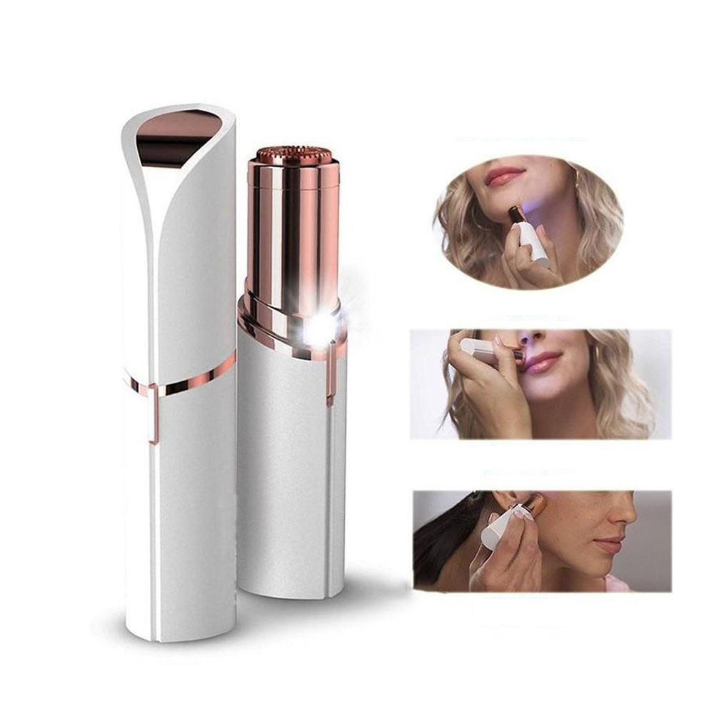 Electric Face Eyebrow Hair Remover Mini Defeatherer Razor Hair Neck Body Electric Tool Portable Painless Shaving Eyebrow Trimme