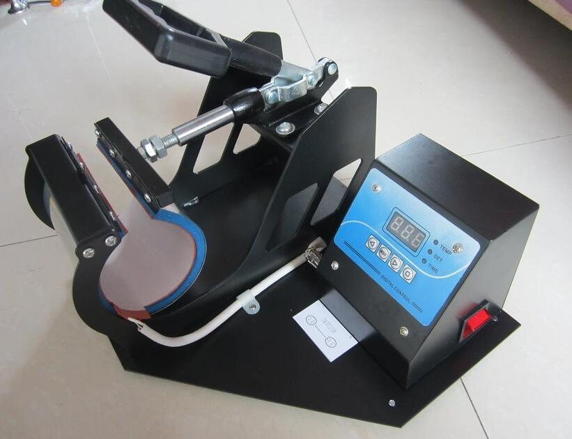 Mug Heat Press Machine Portable Cup Sublimation Transfer Machine 220V/110V Digital DIY Creative Printer