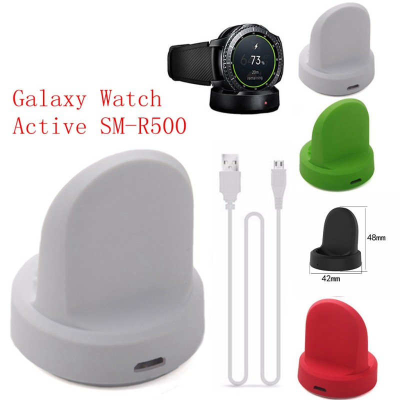 Support de chargement pour chargeur USB 2 SM R360 pour Samsung Gear Fit2 Pro SM-R360 bracelet de montre intelligent câble Station de Charge