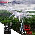 SYMA X5S X5SC X5SW Atualização FPV Drone X5C FPV Câmera de 2MP em Tempo real de Vídeo Quadrocopter RC Quadcopter 2.4G 6-Axis RC Avião de brinquedo