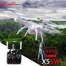 SYMA X5S X5SC X5SW FPV-системы Drone X5C обновления 2MP FPV-системы Камера видео в режиме реального времени Радиоуправляемый квадрокоптер 2.4 г 6- оси Квадрокоптер радиоуправляемый самолет игрушка