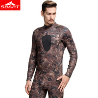 SBART Professional Spearfishing Wetsuit 3MM Neoprene Surfing Camo Wetsuit Anti Jellyfish Camouflage Diving Wet Suit Keep