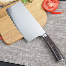 Chinese Style Traditional Handmade Hammered Iron Knife Kitchen Cutting Meat Vegetable Knife Multifunctional Slicing Fish Knives цена и фото