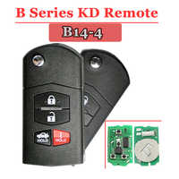 Free shipping (1 piece)B14 KD remote  3+1 Button B series Remote Key for URG200/KD900/KD200  machine