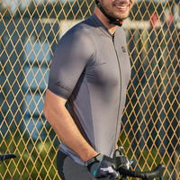 Santic Man Cycling Jersey Pro Short sleeved Bicycle Clothing Competitive Version Of Breathable Perspiration M9C02150 S XXL