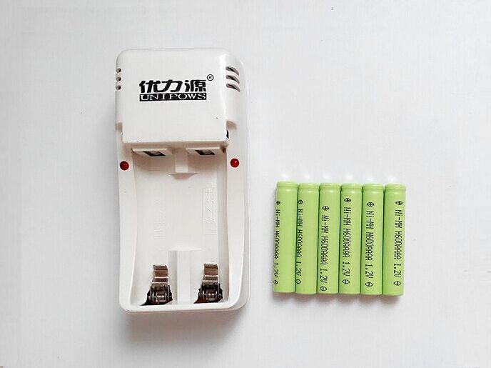 Free Shipping Aaaa Charger Set Aaaa Rechargeable Battery