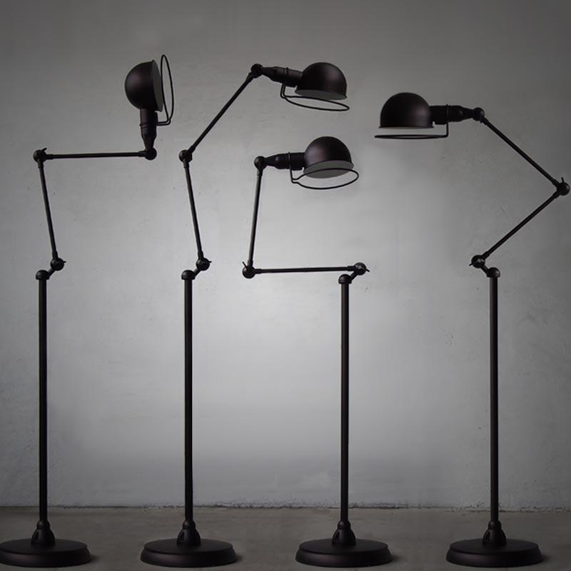 Europe retro floor lamp simple and creative living room ...