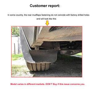 Image 5 - Bộ Đúc Chắn Bùn Cho VW Tiguan 2 Mk2 2016 2017 2018 Mudflaps Bắn Cận Vệ Phía Trước Phía Sau Bùn Sập Mudguards fender Bộ