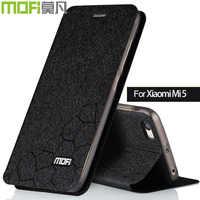 Xiaomi mi5 case mi5 cover Xiaomi mi 5 case cover funda leather xiomi 5 cover silicon back mofi original black gold for girl