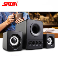 SADA Mini Wired Combination Speaker USB 2 1 Portable Speaker For Laptop Desktop Computer Mobile Phone