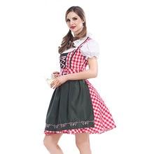 carnaval kigurumi Bavarian costume beer attendant waitress dress girls Oktoberfest beer festival pub party servant dress